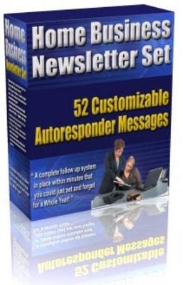 Pay for new* Home Business Newletter Set with MRR
