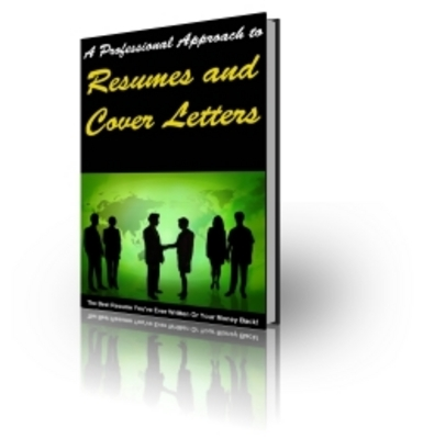 Pay for Resumes and Cover Letters - PLR