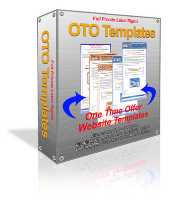 Pay for 5 one time over (oto) templates with PLR