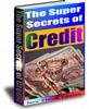 Thumbnail The Super Secrets of Credit  (PLR)