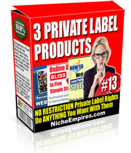 Pay for No-restriction Private Label Rights Special Deal.