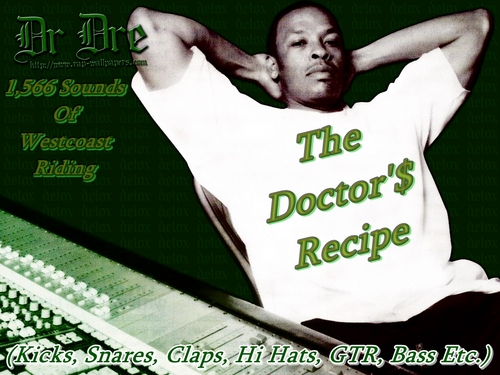 "Pay for Westcoast Drum Kit, Dr.Dre ""The Doctors Recipe"""