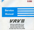 Thumbnail Daikin VRV III 3 R-410A Heat Recovery Service Manual