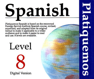 Pay for Spanish Platiquemos Level 8