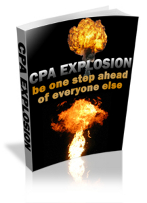 Pay for *NEW!* CPA Explosion - Cost Per Action - Explode your profit