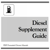 Thumbnail 2011 CHEVY / CHEVROLET Silverado 3500 Duramax DIESEL Supplement Owners Manual