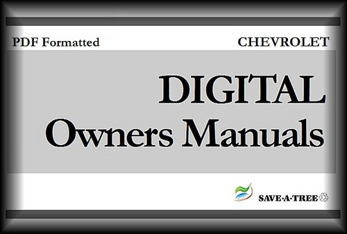 2002 chevy impala owners manual pdf