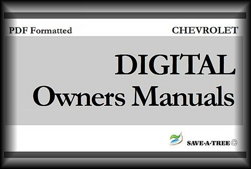 Pay for 2008 CHEVY / CHEVROLET Impala POLICE Package Owners Manual