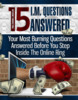 Thumbnail 15 Internet Marketing Questions Answered
