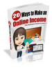 Thumbnail 20 Ways To Make An Online Income
