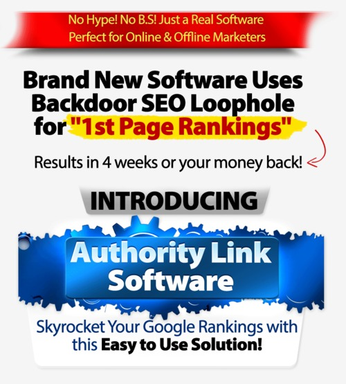 Pay for AUTHORITY LINK SOFTWARE - Wiki Poster and Blog Commenter!
