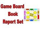 Thumbnail Game Board Book Report Set