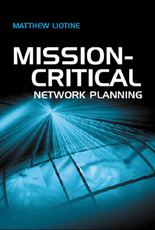 Pay for mission-critical network planning