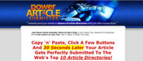 POWER Article Submitter