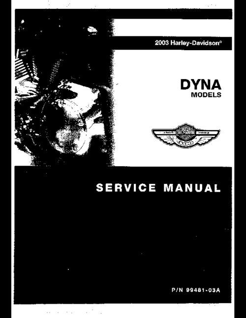 harley davidson factory service manual