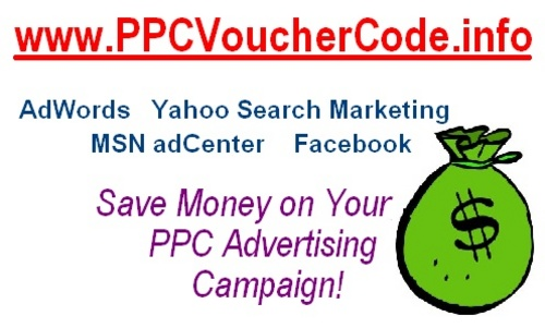 Pay for NEW GUIDE: Get PPC Voucher Coupon Google Adwords MSN & Yahoo