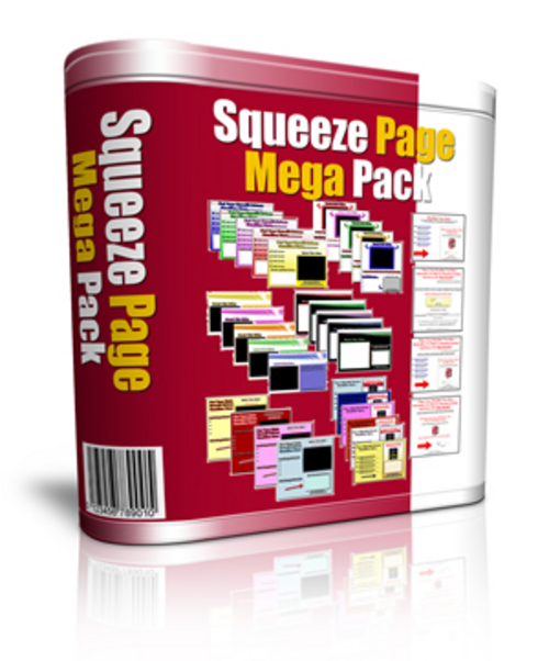 Pay for Squeeze Page Mega Pack