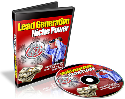 Pay for  Lead Generation Niche Power Video Series