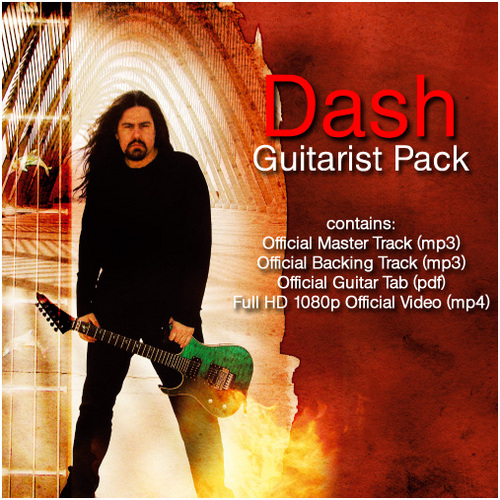 Pay for Dash - Guitarist Pack (Tab+Backing Track+Video)