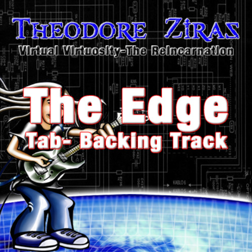 Pay for Theodore Ziras-The Edge Official Tab+Backing Track