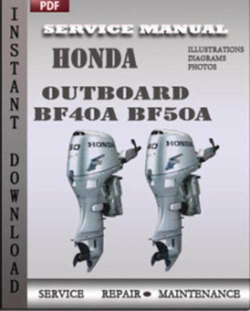 Honda bf-50 инструкция