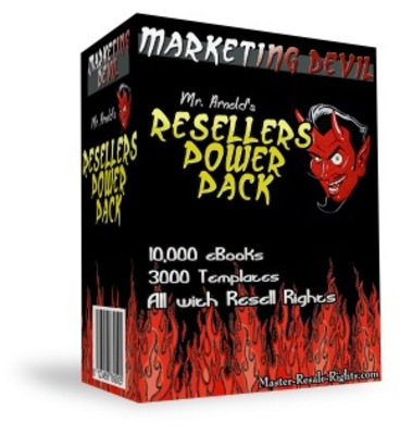 Pay for Marketing Devil Power Pack - Master resell rights