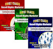 Thumbnail First Class Resell Rights Marketer Package