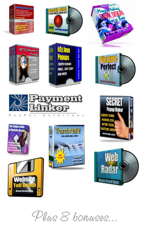 Pay for Web Masters Profit Pack
