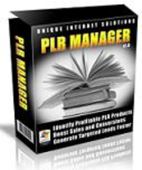 Pay for PLR Manager