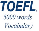 Thumbnail TOEFL Audio Vocabulary in Use. English - French