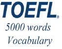 Thumbnail TOEFL Audio Vocabulary in Use. English - French