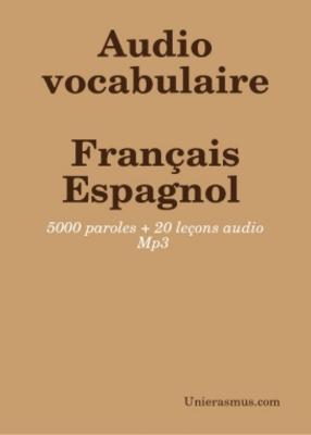 Pay for Cours: Audio Vocabulaire Français - Espagnol