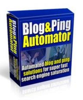 Pay for Blog & Ping Automator