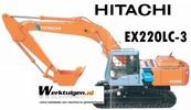 Thumbnail HITACHI ex220-3 ex220LC -3 workshop repair manual