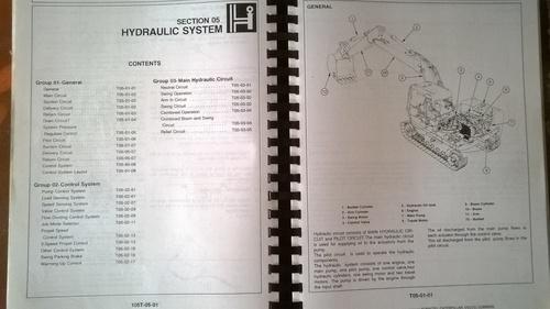 Hitachi Ex120-2 Technical Workshop Manual