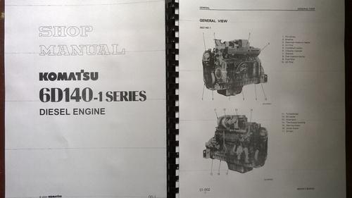komatsu 6d140 1 s6d140 1 sa6d140 1 engine service manual. Black Bedroom Furniture Sets. Home Design Ideas