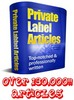 Thumbnail PLR Mega Pack - 131,000 Articles - Any Topic You Need!
