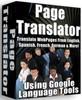 Thumbnail *NEW* Page Translator Translate Webpages 2011