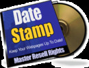 Thumbnail *NEW* Date Stamp Keep Your Webpages Up To Date 2011