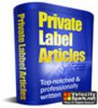 Thumbnail *NEW* Chiropractic Care Private Label Articles 2011