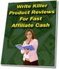 Thumbnail *NEW* Write Killer Product Reviews  2011