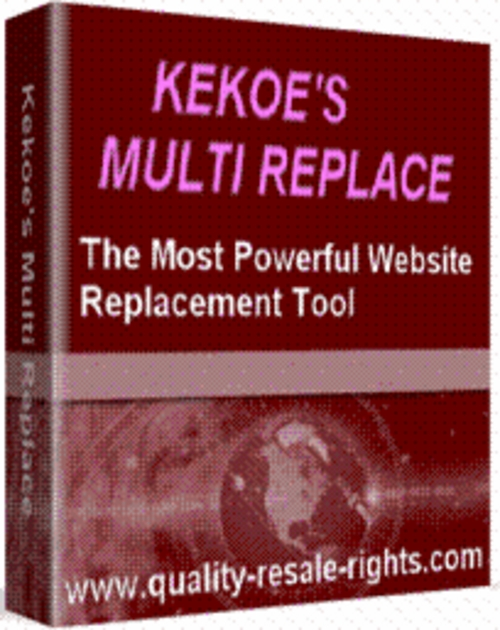 Pay for *NEW* Kekoes Multi Replace The Most Powerful 2011