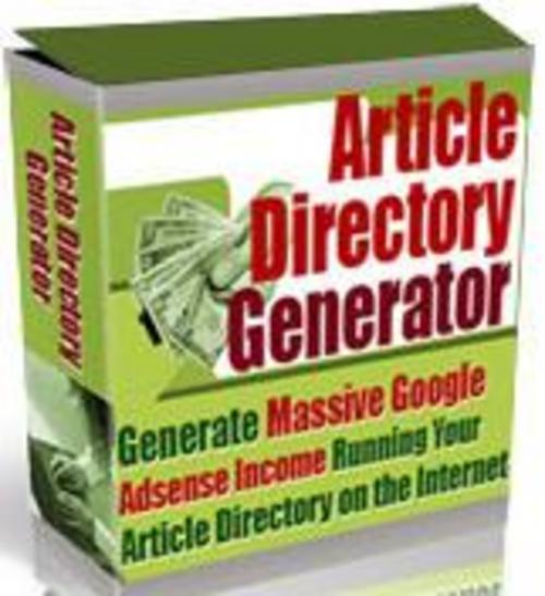 Pay for *NEW* PLR MRR Article Directory Generator gr.zip 2011