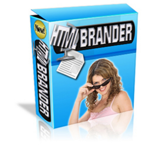 Pay for *NEW* HTML Brander Software With Master Resale 2011
