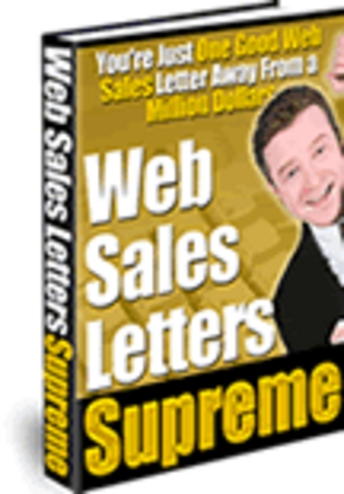 Pay for *NEW* Sales Letter Generator Software With Resale  2011