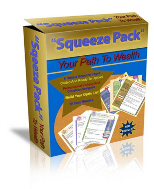 Pay for *NEW* PLR MRR Squeeze Pages Profit 6 Pack pk6.zip 2011