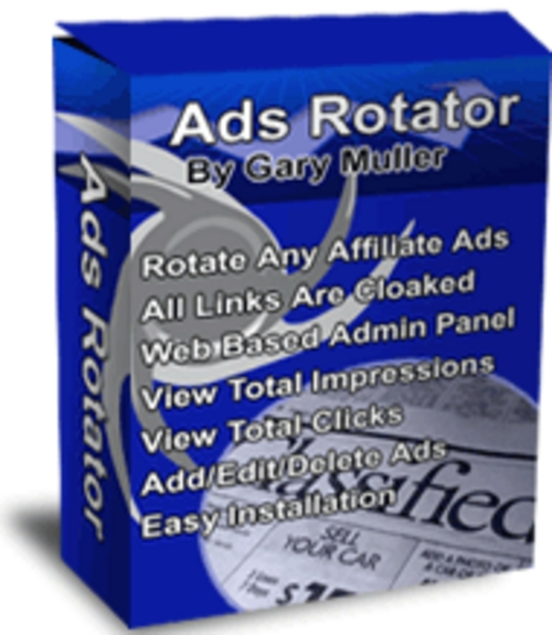 Pay for ***NEW***Ads Rotator Rotate Any Affiliate  2011