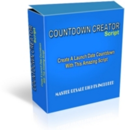 Pay for *NEW* Count down Creator cdc cdg With MRR. 2011