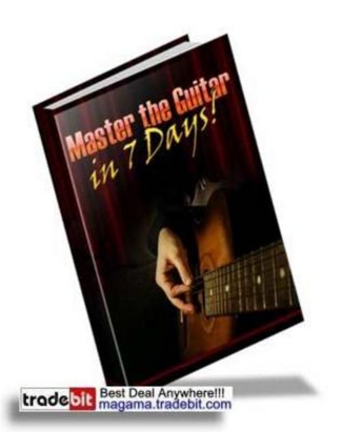 Pay for *NEW* Master the Guitar in 7 Days PLR! 2011