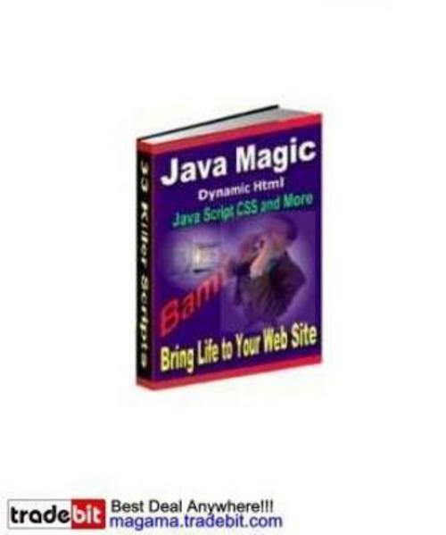 Pay for **NEW** Java Magic MRR! 2011